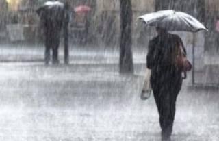 Meteorolojiden 5 il için yağış ve fırtına uyarısı