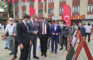 15 Temmuz'un çarpıcı fotoğrafları İznik'te...