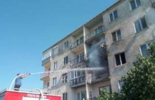 Bursa'da dumanlar yükseldi! Oturduğu daireyi...