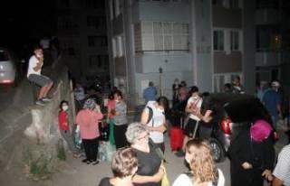 Bursa'da korku dolu anlar! 9 katlı binanın...