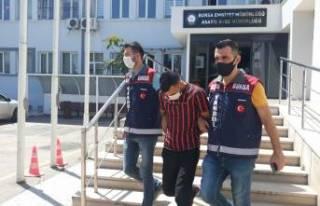 Bursa'da 51 suçtan kaydı bulunan kapkaççıyı...