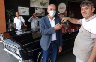 Bursa'da baba yadigarını davul ve zurna ile...