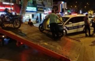 Bursa'da abart egzoz takanlara ceza yağdı