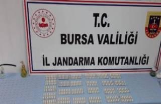 Bursa'da 3 farklı adrese eş zamanlı uyuşturucu...