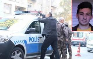 Kahramanmaraş'ta polisimizi şehit eden katil...