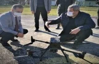 Bursa'da maden ocaklarına İHA'lı takip