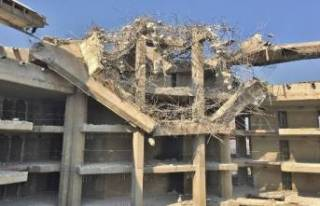 Bursa Çekirge Teras yıkımlarla şekilleniyor