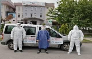 Bursa'da evde sağlık hizmetleri pandemi sürecinde...
