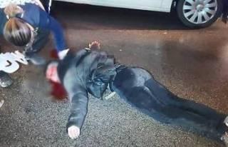 Bursa'da feci olay! Aracın önüne atlayan genç...
