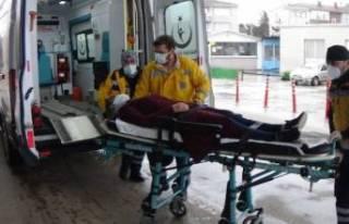 Bursa'da iki otomobil çarpıştı: 1 yaralı