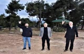 Bursa'nın en güzel çamlığı açılıyor