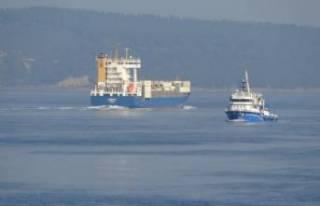 Çanakkale Boğazı tek yönlü gemi trafiğine kapatıldı!