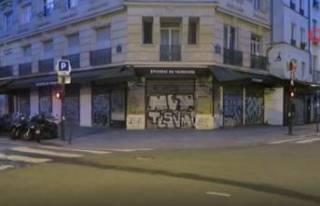 Fransa'da 4 haftalık karantina başladı! Sokaklar...