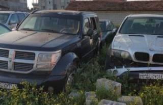 Milyonluk lüks araçlar çürümeye terk edildi