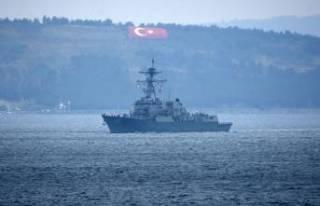 ABD savaş gemileri Karadeniz'den geçmeyecek!
