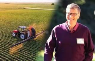 Bill Gates'in Trakya'dan arazi aldığı...