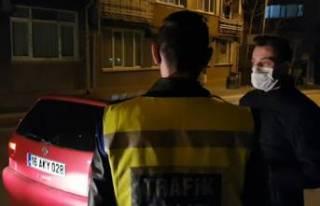 Bursa'da araçtan çıkan kumandaya basan polis...