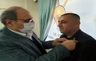 Bursa'da CHP eski ilçe başkanı AK Parti'ye...