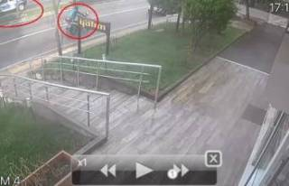 Bursa'da motosiklet çalan hırsızın pişkinliği...