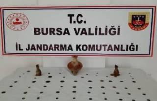 Bursa'da Roma ve Bizans dönemine ait tarihi...