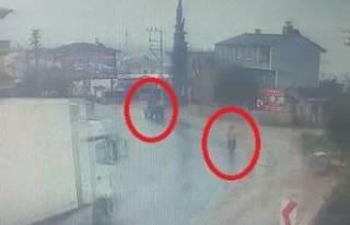 Bursa'da TIR kazası!  2 yaralı