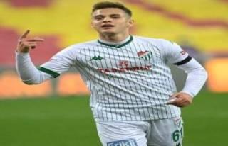 Bursaspor'un en golcü ismi Batuhan Kör oldu