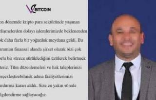 Kripto para işlem platformu Vebitcoin CEO'su...