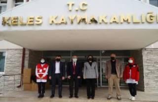 Türk Kızılay Bursa'dan Keles'e yardım...