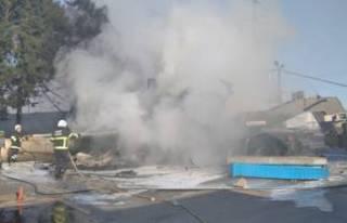 Lastiği patlayan askeri araç kaza yaptı; 2 şehit