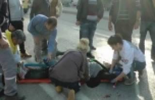 5 Aylık Bebek Kazadan Yara Almadan Kurtuldu
