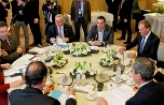 AB Zirvesi'nde Yunanistan konuşulmadı