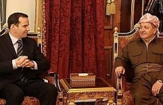ABD ve İngiltere'den Barzani'ye destek