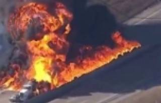 ABD'de tanker faciası!