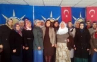 Ak Parti Sincik Kadın Kolları Başkanı Değişti