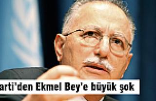 AK Parti'den Ekmel Bey'e büyük şok