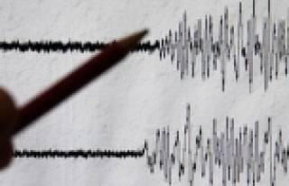 Akdeniz'de 4,8 büyüklüğünde deprem