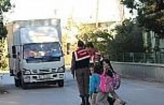 Aksu Jandarma Trafik Uygulamalarına Devam Ediyor