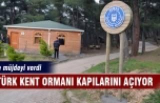 Atatürk Kent Ormanı kapılarını açıyor!