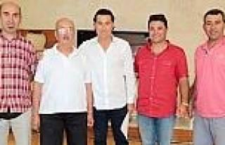 Avcı Ve Atıcılar, Başkan Kocadon'u Ziyaret Etti