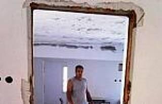 Ayvalık'ta Etüt Evi İçin Hummalı Çalişma