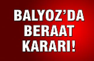 Balyoz'da beraat kararı