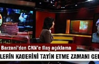 Barzani'den CNN'e flaş açıklama