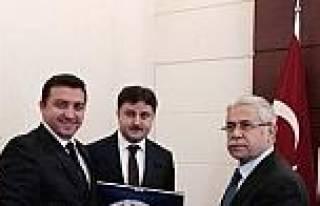 Başkan Bakıcı'dan Müsteşar Öztürk'e Ziyaret