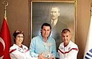Başkan Kocadon'dan Şampiyon Atletlere Teşekkür