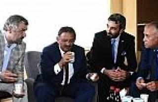 Başkanlardan Asgd'ye Anlamlı Ziyaret