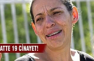 Brezilya'da korkutan cinayetler!