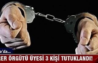 Bursa'da terör örgütü üyesi 3 kişi tutuklandı