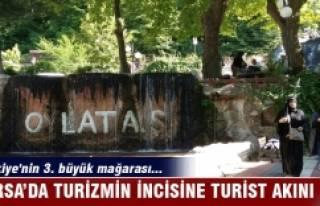 Bursa'da turizmin incisine turist akını
