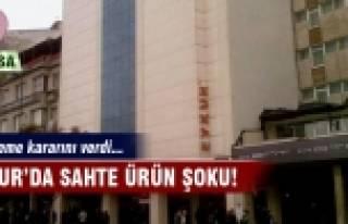Bursa EVKUR'da sahte ürün şoku!