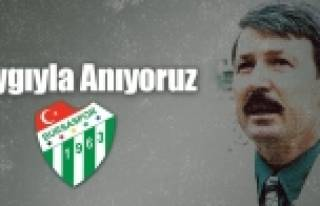 Bursaspor'da eski başkana vefa